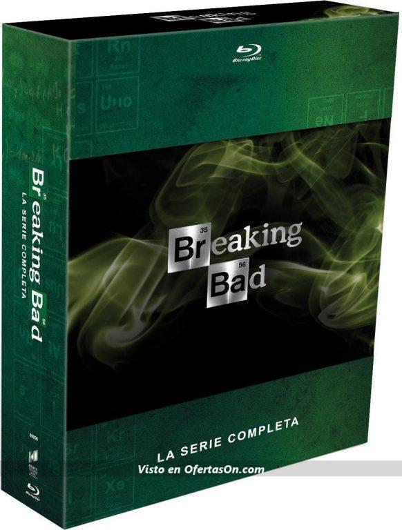 pack breaking bad serie completa blu-ray