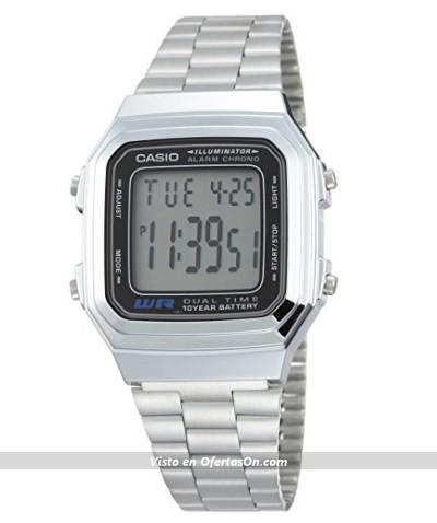 reloj de pulsera unisex Casio A178W