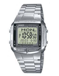 Reloj Casio Collection de cuarzo con correa de acero inoxidable plateada