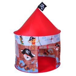 Tienda de campaña con carpa diseño de isla del tesoro y piratas Knorrtoys