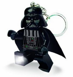 Llavero con luz Lego Darth Vader