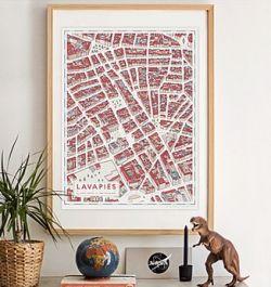 mapa lavapies andres lozano