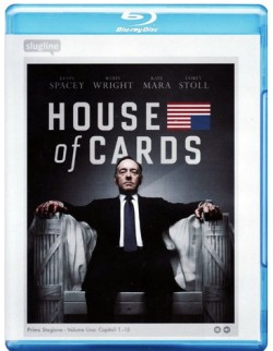 house of cards temporada 1 blu ray italia