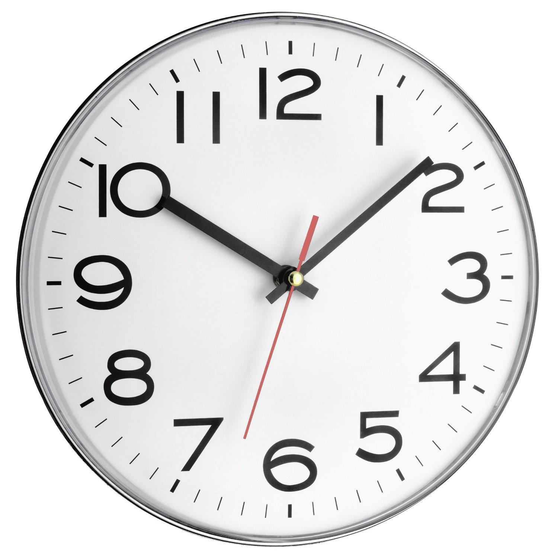 Reloj de pared tfa blanco por 15 92 ofertason - Relojes de pared retro ...
