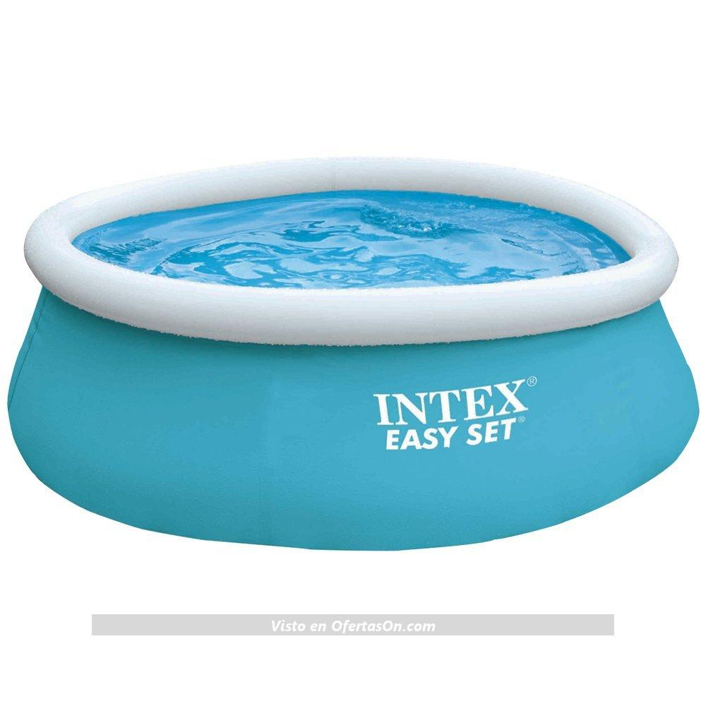 Piscina hinchable intex easy set color baby 183 x 51 cm for Amazon tumbonas piscina