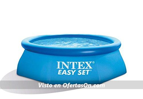 Piscina hinchable intex easy set 244 x 76 cm por 29 95 for Piscina intex easy set