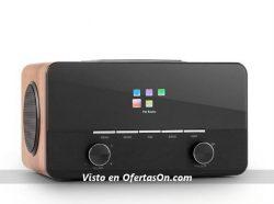 Radio Wifi Reproductor Auna Connect 150 2.1 marron claro