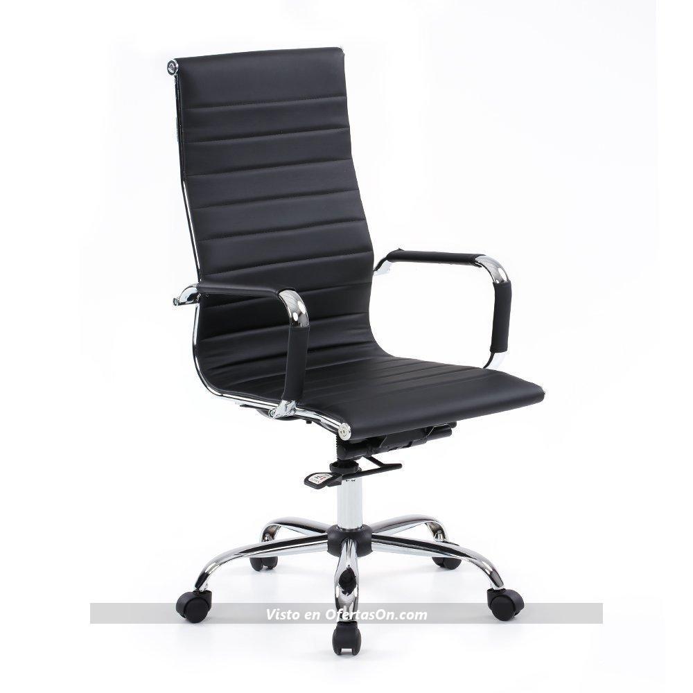 Silla de escritorio ikayaa sp 7501 2 con respaldo for Sillas de escritorio ofertas