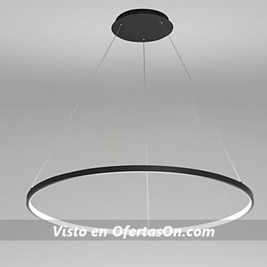 L mpara de techo led 40w con pieza circular 80cm por 134 84 - Lamparas techo ninos ...
