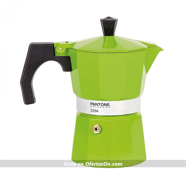 Cafetera italiana grande pantone verde 569 por 29 95 - Cafetera express amazon ...