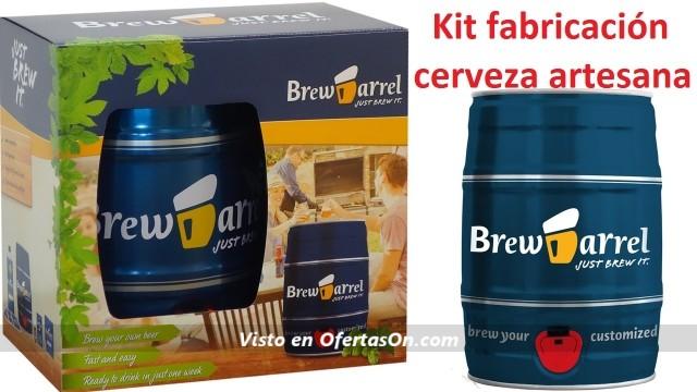 kit elaboracion cerveza artesana de barril