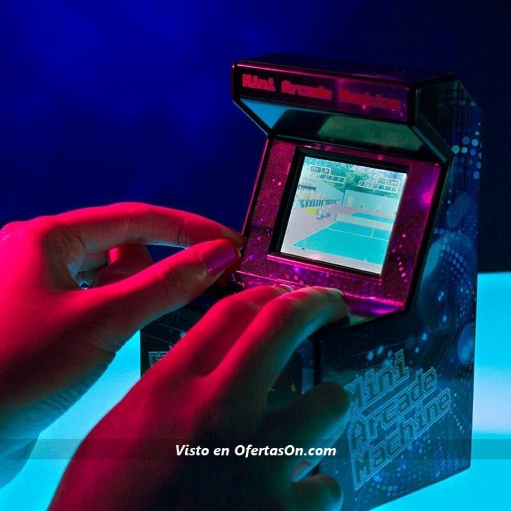 Mini Maquina Recreativa Retro Con 240 Juegos De Arcade Clasicos Por