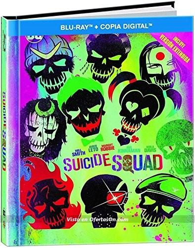 pelicula Escuadrón Suicida (Versión Extendida) - Edición Digibook [Blu-ray]