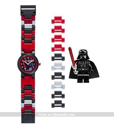 Reloj de pulsera infantil LEGO Star Wars Darth Vader 9002908