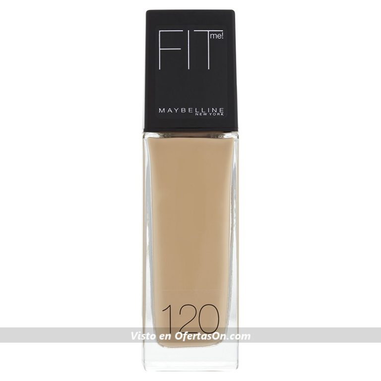 Maybelline Fit Me Base de Maquillaje, Tono: nº120 Classic