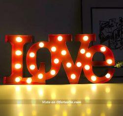 lampara led love