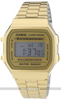 reloj de pulsera unisex CASIO Collection A168WG-9EF