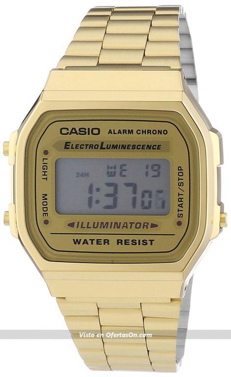reloj de pulsera unisex CASIO Collection A168WG-9EF