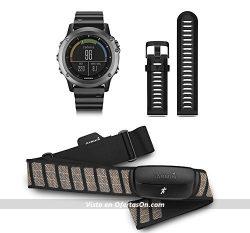 reloj deportivo garmin fenix 3 zafiro con gps y pulsómetro