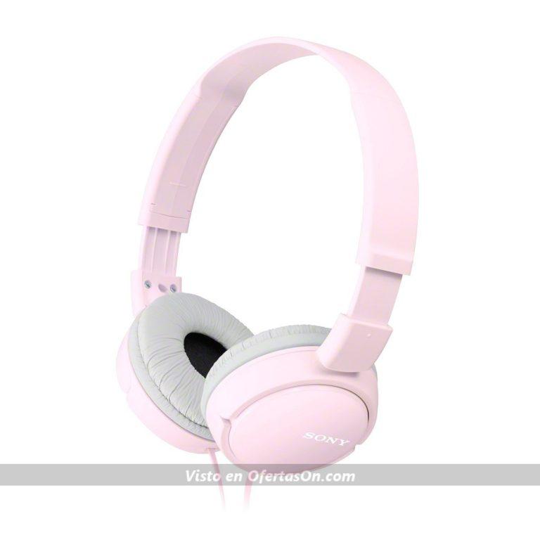 Auriculares cerrados Sony MDR-ZX110 rosa