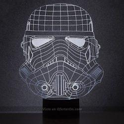 Lámpara de mesa 2D Stormtrooper