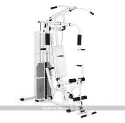 Multiestación de musculación Klafit Ultimate Gym 3000 blanca