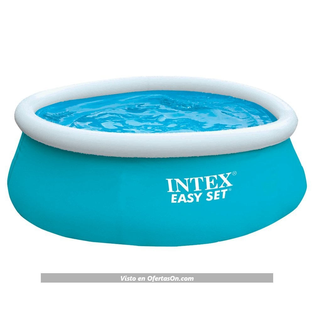 Piscina hinchable circular intex easy set varios tama os for Piscinas hinchables grandes