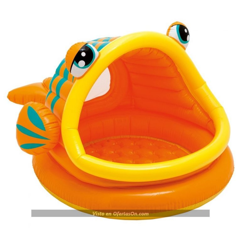 Piscina hinchable para bebe Diseño Pez de Intex