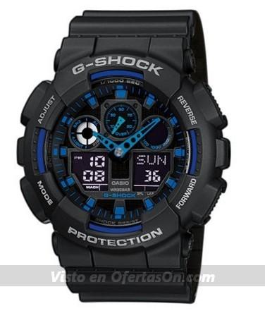 Reloj de pulsera Casio G-Shock GA-100-1A2ER
