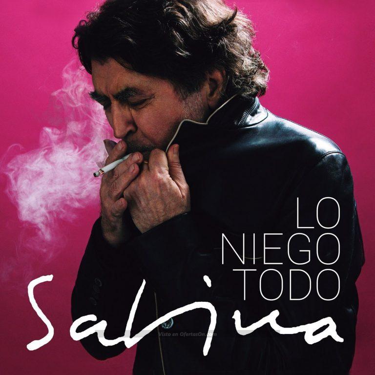 Disco Joaquin Sabina - Lo niego todo [CD]
