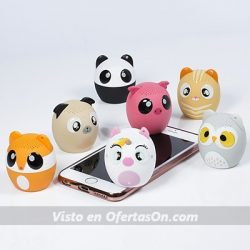 altavoces portatiles animales thumbs up