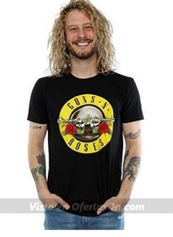 camiseta oficial guns n roses