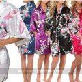 Kimono de seda para mujer