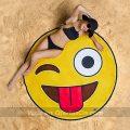 Toalla de Playa Gigante Bigmouth Emoji
