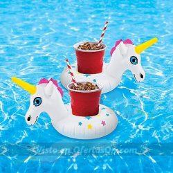flotadores para bebidas unicornio