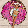 toalla de playa donut gigante