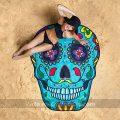 toalla de playa gigante calavera mexicana