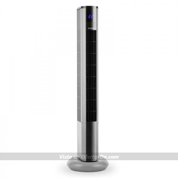Ventilador de pie Klarstein Skyscraper 3G color plata