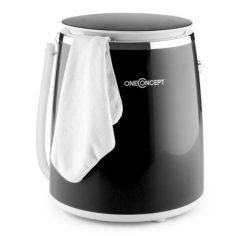 Mini-lavadora oneConcept Ecowash-Pico con centrifugado 3,5 kg 380W negra