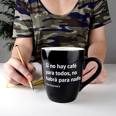 Taza para cafeinpmanos Si no hay cafe para todos, no habra para nadie