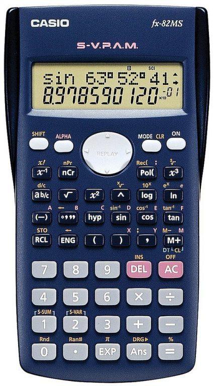 Calculadora cientifica Casio FX-82MS (240 funciones)