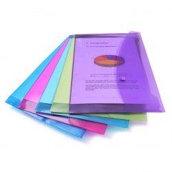 Carpetas Portafolios A+ Rapesco (cubierta translúcida, varios colores, 5 uds.)