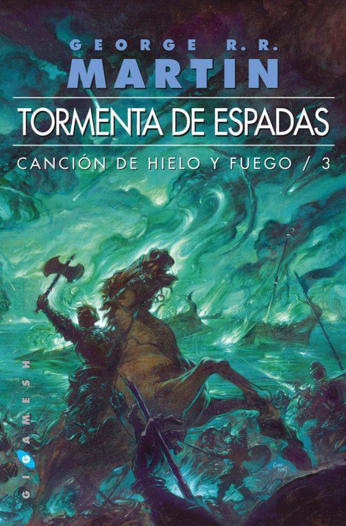 Libro Tormenta de Espadas (Canción de Hielo y Fuego III) de George R.R. Martin [ed. bolsillo]