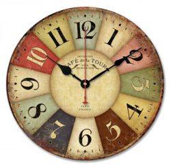 Reloj de pared estilo toscano frances vintage Ularma