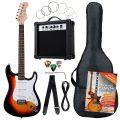 Set guitarra eléctrica + Funda + Amplificador 10W + accesorios Rocktile Banger's Power
