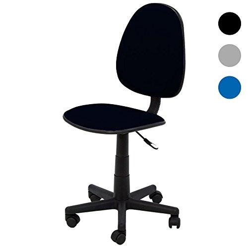 Silla de escritorio cashoffice 36002 negra por 9 99 for Sillas de escritorio ofertas