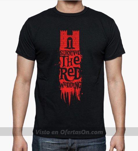 Camiseta Juego de Tronos I survived red wedding
