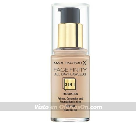 Base de maquillaje Max factor All day flawless 3 in 1 foundation (tonos surtidos)