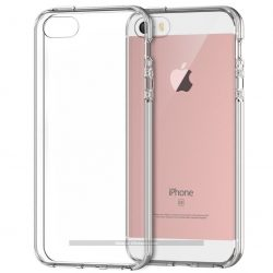 Funda transparente anti-impactos para iPhone SE 5 5S (colores surtidos)