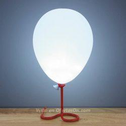 Lámpara de mesa con forma de globo